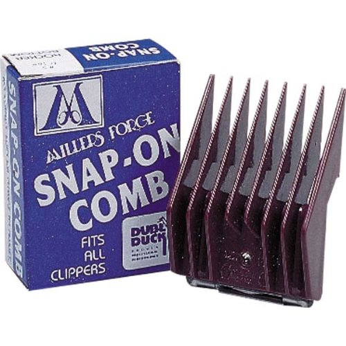 Millers Forge Original Snap-On Clipper Comb, Size-1, 5/8-Inch Cut - Miller Forge Comb
