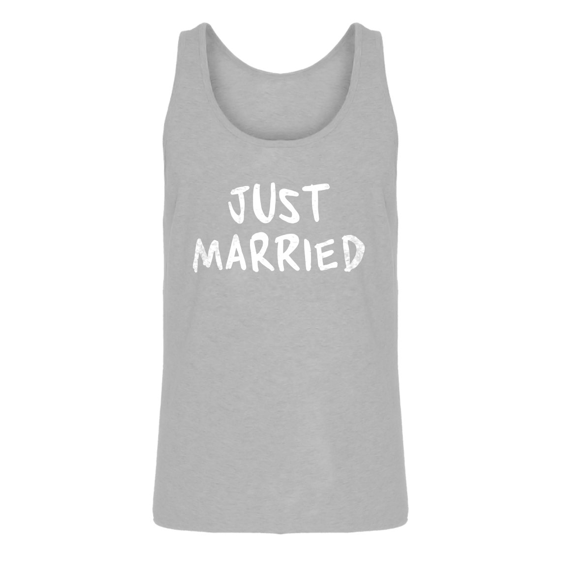 Indica Plateau Just Married Mens Jersey Tank Top 3317-T