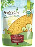 Organic Hulled Millet by Food to Live (Whole Grain Seeds, Non-GMO, Kosher, Raw, Bulk, Product of the USA) (3 Pounds)