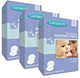 Lansinoh Nursing Pads Stay Dry 60 Each ( Pack of 3 )