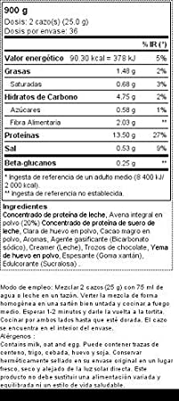 Pancake + Protein: Tortitas de avena con proteína 900 g ...