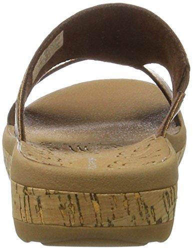 Rockport Keona Slide - Sandalias Mujer Braun (tan Smth)
