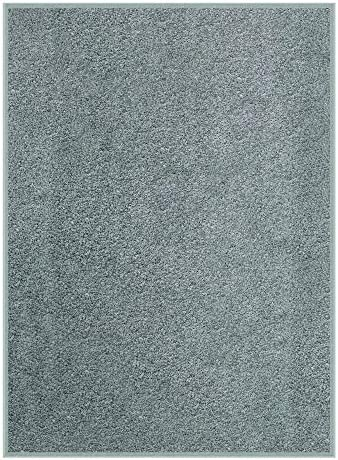 Koeckritz 8 x10 Caribbean Shaggy Indoor Area Rug – Shaggy Carpet for Residential or Commercial use with Premium Bound Polyester Edges.