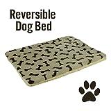 Best  - Pet Bed Mat Reversible Bone Print Fleece Review