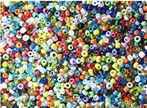 Amazon.com: Seed Beads 11/0 Colorful Glass Seed Bead Mix