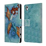 Official Amy Brown Wish Upon A Star Sea Leather Book Wallet Case Cover For Sony Xperia Z5 Compact