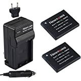 Newmowa NB-11L/NB-11LH Battery (2-Pack) and Charger kit for Canon NB-11L/NB-11LH and Canon PowerShot A2300 IS, A2400 IS, A2500, A2600, A3400 IS, A3500 IS, A4000 IS, ELPH 110 HS, ELPH 115 HS, ELPH130HS