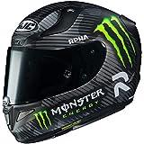 HJC RPHA Unisex-Adult Full face 94 Special Monster Graphic Motorcycle Helmet (Black/White/Green, Medium)