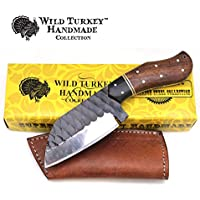 Wild Turkey Handmade Collection Full Tang Fixed Blade...