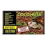 Exo Terra Coco Husk Terrarium Substrate, 8-Quart