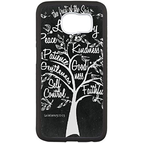 Hannah Samsung Galaxy S7 Case,Personalized Custom Scripture Chalkboard Quotes Printed,Unique Design Protective TPU Hard Phone Case Cover Sales