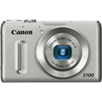 Canon PowerShot S100 12.1 MP Digital Camera with 5x Wide Angle Optical Image Stabilized Zoom (Silver) At A Glance Review Image