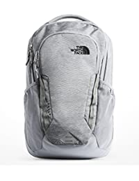Vault Backpack, Mid Grey Dark Heather/TNF Black