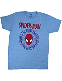 Marvel Comics Spider-Man Great Power Graphic T Shirt