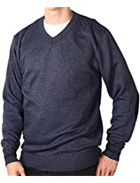 Young Men's Marled V-Neck Sweater