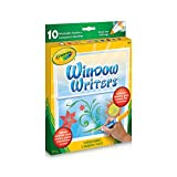 Crayola Washable Window Markers, Craft Supplies, Drawing Gift for Boys and Girls, Kids, Teens Ages 5, 6,7, 8 and Up, Back to school, School supplies, Arts and Crafts,  Gifting