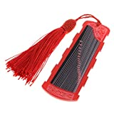 Baoblaze Classical Guzheng Nails Picks Tape Storage Tool for Players Practice Playing - Red, as described