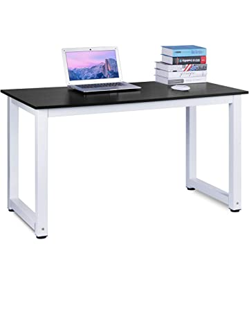 Computer Desk, DOSLEEPS Office Study Desk Computer PC Laptop Table  Workstation Dining Gaming Table For