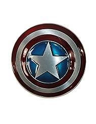 CTM® Marvel Avengers Captain America Shield Belt Buckle, Silver