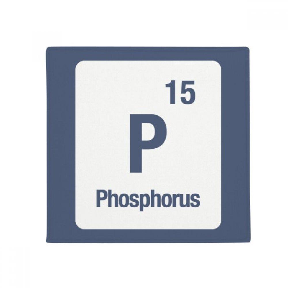 DIYthinker P Phosphorus Chemical Element Chem Anti-Slip Floor Pet Mat Square Home Kitchen Door 80Cm Gift