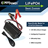 ExpertPower 12V 20A Smart Charger for Lithium