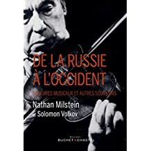 De la Russie à l'Occident (Musique) (French Edition)