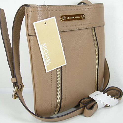 610622007f4564 New Michael Kors Logo Purse Cross Body Hand Bag Genuine Leather Khaki Moxley  - Buy Online in UAE. | Shoes Products in the UAE - See Prices, Reviews and  Free ...