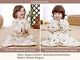 Cyuuro Baby Organic Detachable Sleeves Toddler