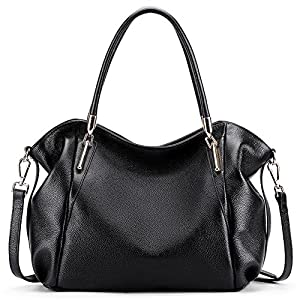 Vatan Women's Vintage Genuine Leather Handbag Daily Work Tote Shoulder Bag Large Capacity