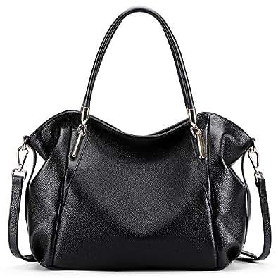Amazon.com  Vatan Women s Vintage Genuine Leather Handbag Daily Work ... a24d68a6bd6e0