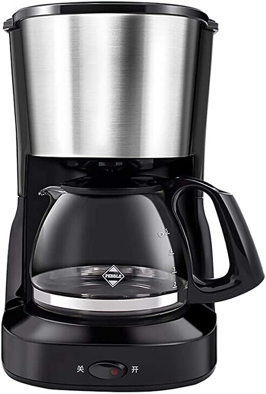 NQN Mini Gran Capacidad American Drip Coffee Maker Machine Tea ...