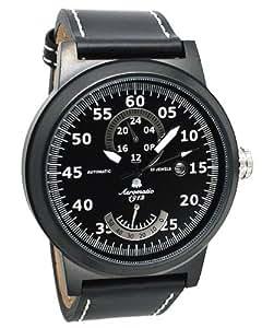 "Reloj Automático ""Power Reserve Esfera de 24h"" Aeromatic A1357"