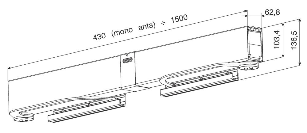 Aprimatic Buongiorno - Dispositivo de automatización para contraventanas abatibles de doble puerta 43400/801: Amazon.es: Deportes y aire libre
