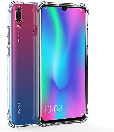 REY Funda Anti-Shock Gel Transparente para Huawei P Smart 2019: Amazon.es: Electrónica