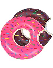DMAR Pool Floats for Adults Inflatable Donut Pool Float Swim Rings Single