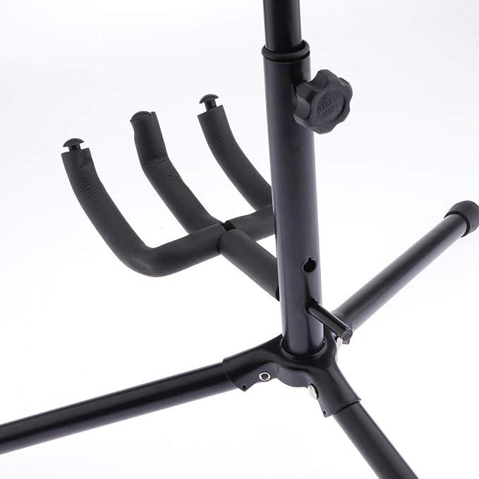 gazechimp Foldable Instrument Stand A Frame Guitar Holder Display For Guitar Ukulele