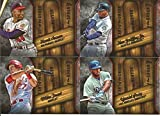 2015 Topps Heart of the Order MLB Baseball Complete Mint 20 Card Insert Set with Ted Williams, Hank Aaron, Ken Griffey Jr., Mike Trout Plus Complete M (Mint)