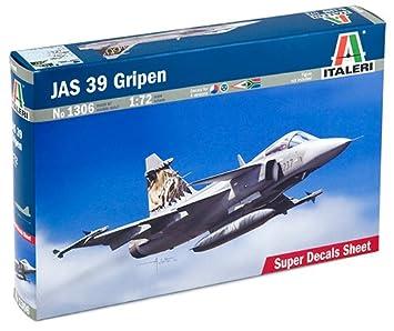 Italeri 1306S JAS 39 Gripen - Maqueta de avión (escala 1:72) [importado de Alemania]