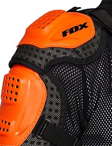 Fox Racing Titan Sport Jacket-Black/Orange-L by Fox Racing (Image #5)