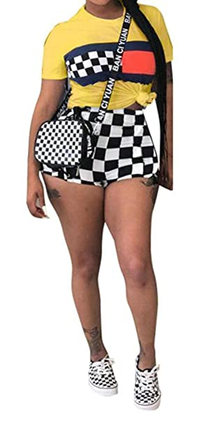 Amazon.com: MK988 - Pantalones cortos de manga corta para ...