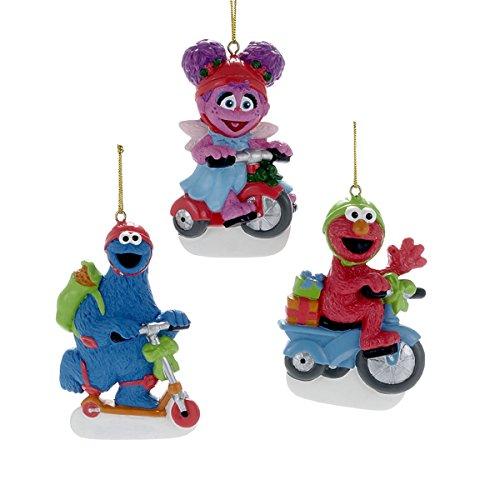 Kurt Adler Sesame Street Characters Ornament Set