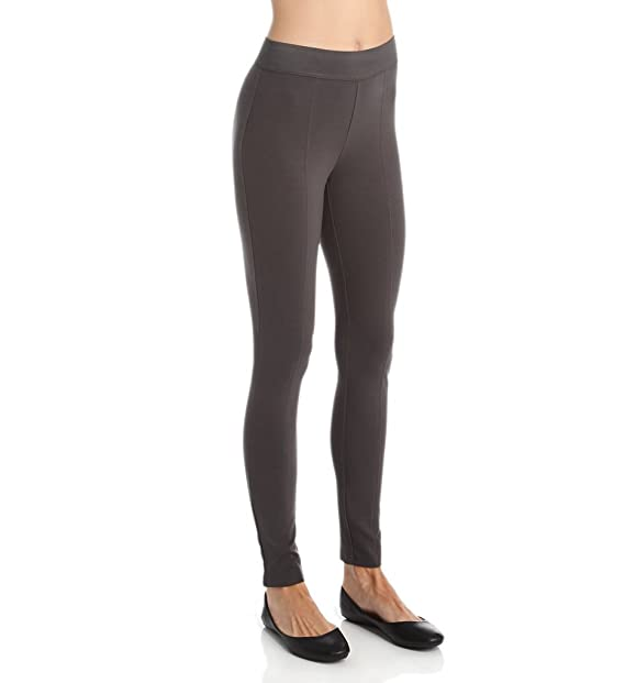 db79775aecb48b Hue Total Coverage Black Out Leggings, U15797 (Asphalt, M): Amazon ...