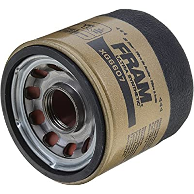 FRAM XG6607 Ultra Synthetic Spin-On Oil Filter with SureGrip: Automotive