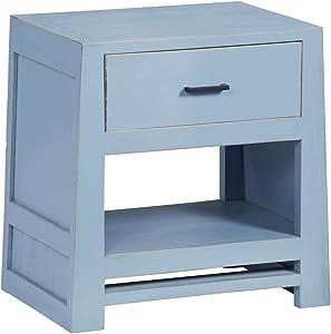 Progressive Furniture Carolina Nightstand, Blue