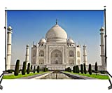 LYLYCTY 5x7ft India Taj Mahal Photography Backgrounds Temples Backdrop Outdoor Decoration Photo Studio Background Props BG017