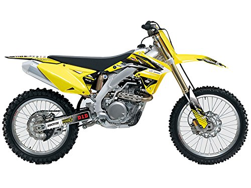 Team Racing Graphics kit for All Years Suzuki DRZ 70, ANALOGBase kit