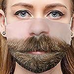 Writtian-Erwachsene-Mundschutz-Lustig-Waschbar-Baumwolle-Mund-nasenschutz-Stoff-Mehrweg-Atmungsaktiv-Tuch-Halstuch-Bandana-Lustige-Motive-Halstuch-Bandana-Tuch-mundschutz