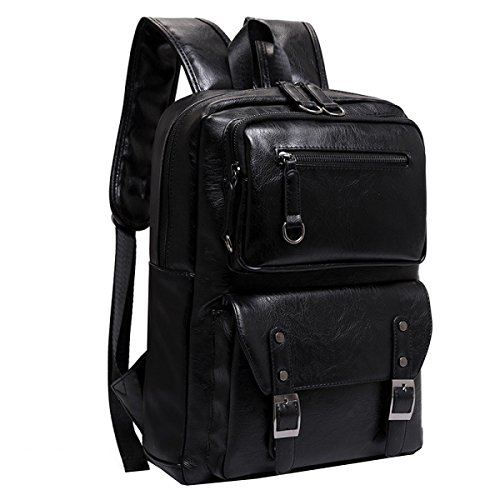 Leisure Multi Travel Business Black Bag Men's Shoulder Backpack Laidaye purpose 1OqBvB