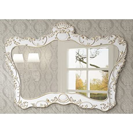 InFurniture WB 19653BM 57 1 Mirror White