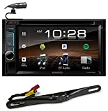 Kenwood DDX375BT 6.2' In-Dash Car DVD Bluetooth Receiver Monitor+Back-up Camera
